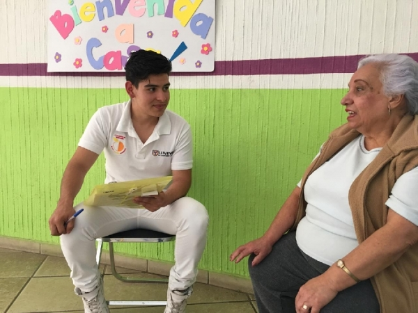 EL DIF MUNICIPAL Y UNIVA VALORAN ESTADO NUTRICIONAL DEL ADULTO MAYOR
